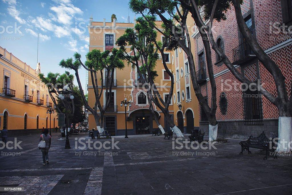 Puebla de Zaragoza, Mexico stock photo