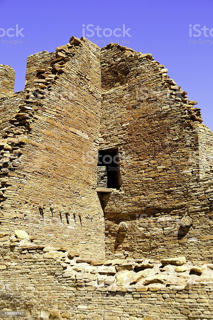 Pueblo Bonito, Chaco Culture National Historical Park stock photo