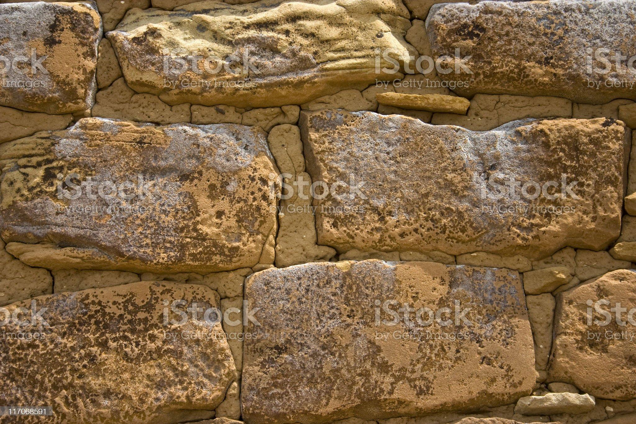Pueblo Bonito royalty-free stock photo