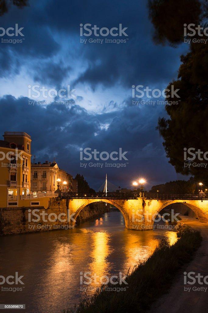Puente de los Peligros II stock photo