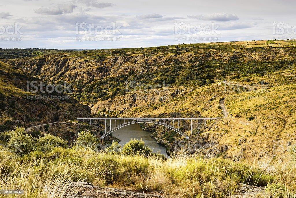 Puente de Requejo, Zamora, Spain stock photo