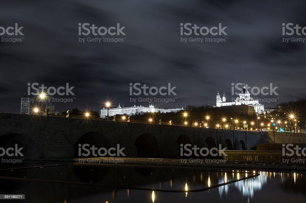 Puente de Toledo stock photo