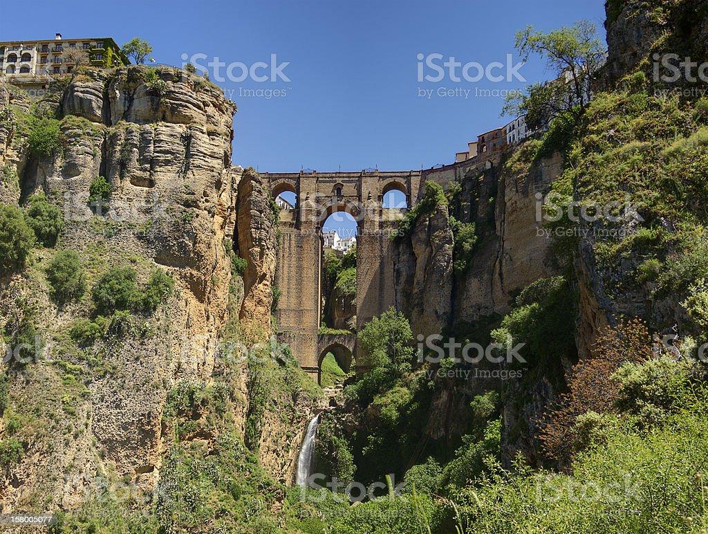 Puente Nuevo at Ronda, Spain stock photo
