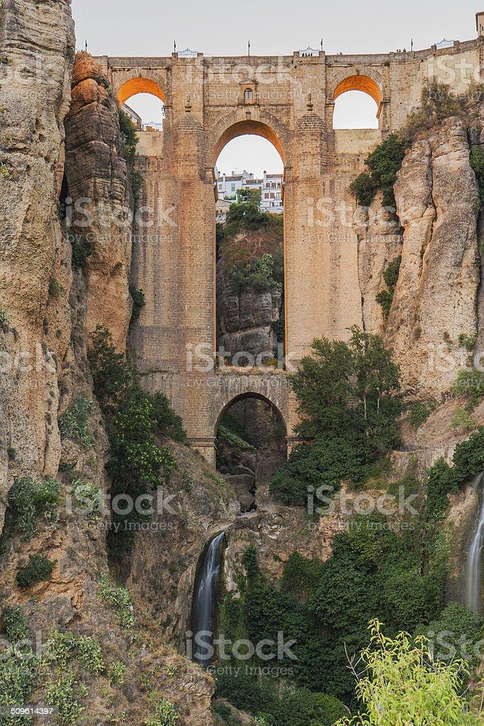 Puente Nuevo Bridge stock photo