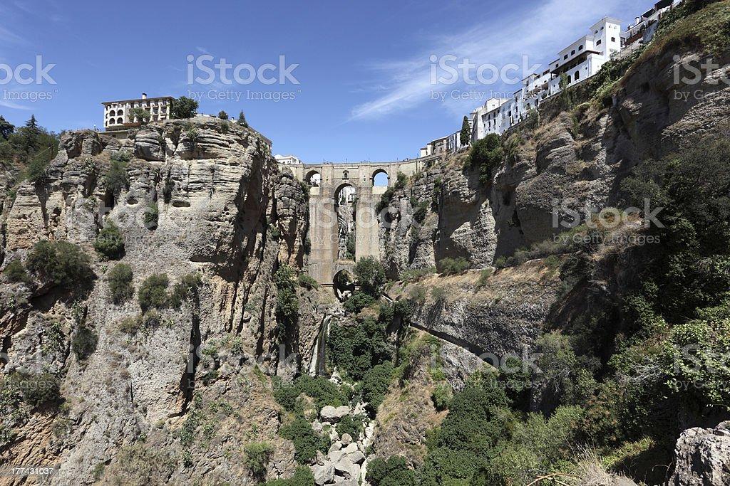 Puente Nuevo in Ronda, Spain royalty-free stock photo
