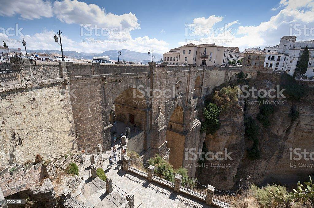 Puente Nuevo stock photo