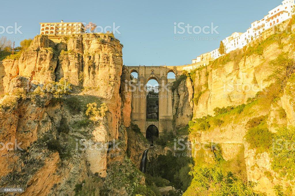 Puente Nuevo Ronda stock photo
