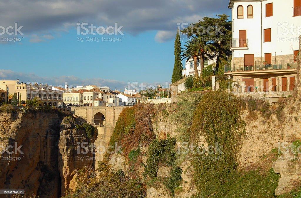 Puente Nuevo - Ronda stock photo
