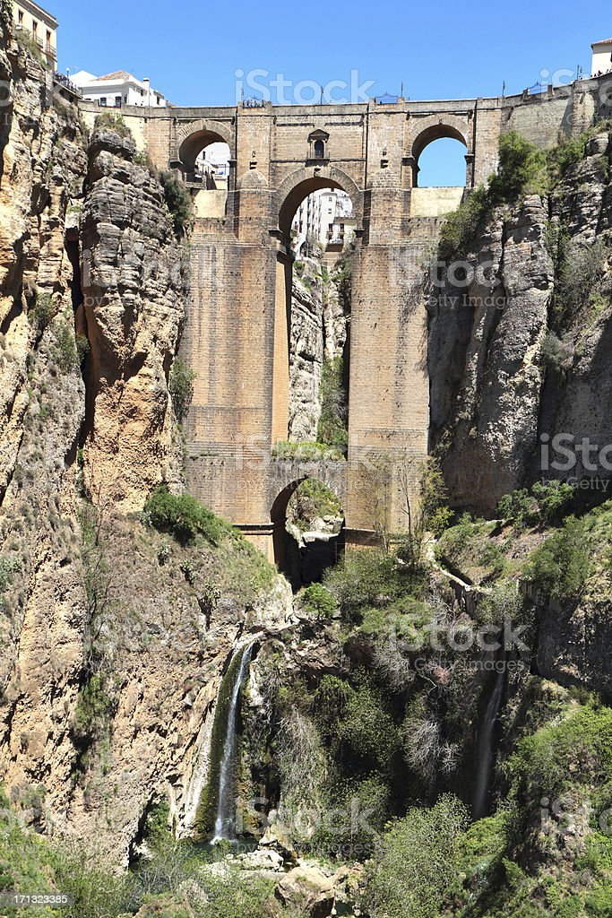 Puente Nuevo, Ronda, Spain royalty-free stock photo