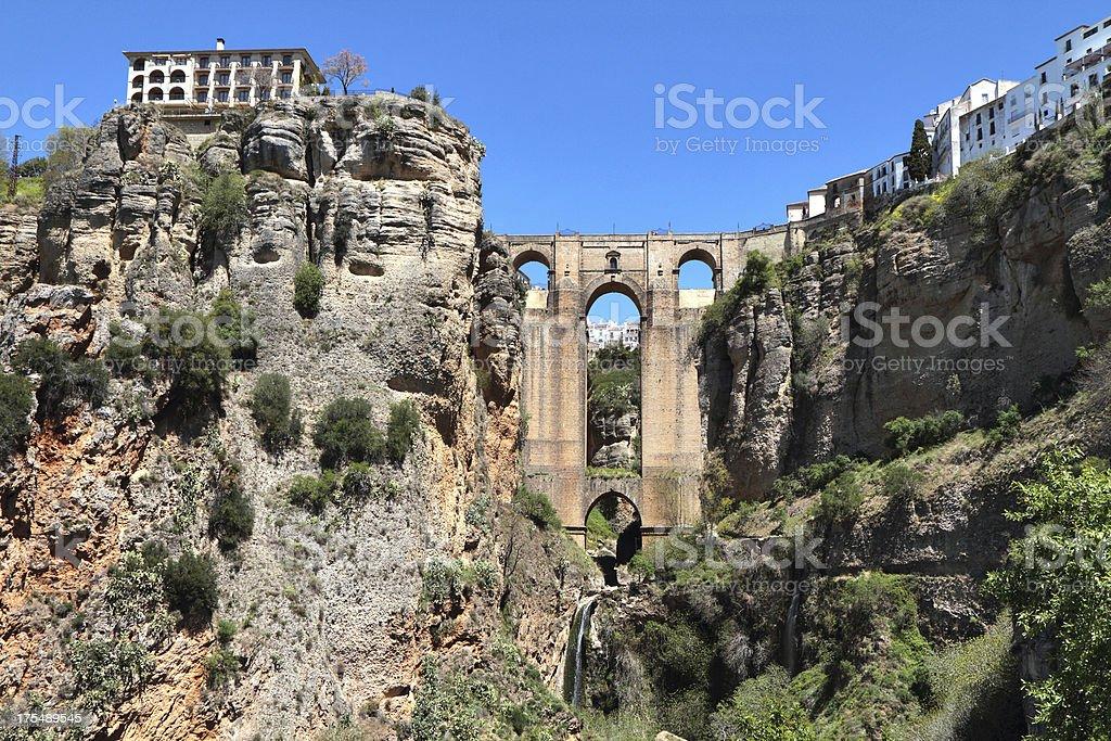 Puente  Nuevo, Ronda, Spain stock photo