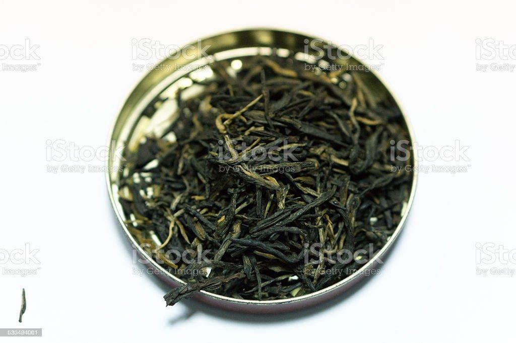 Puer tea stock photo