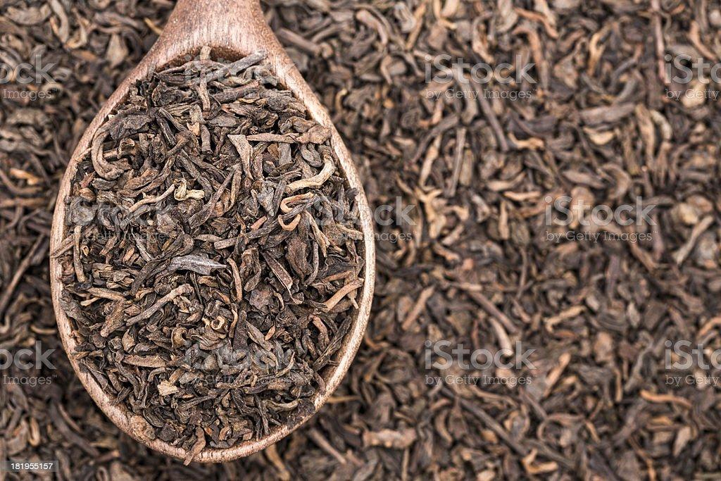 Pu-erh tea royalty-free stock photo