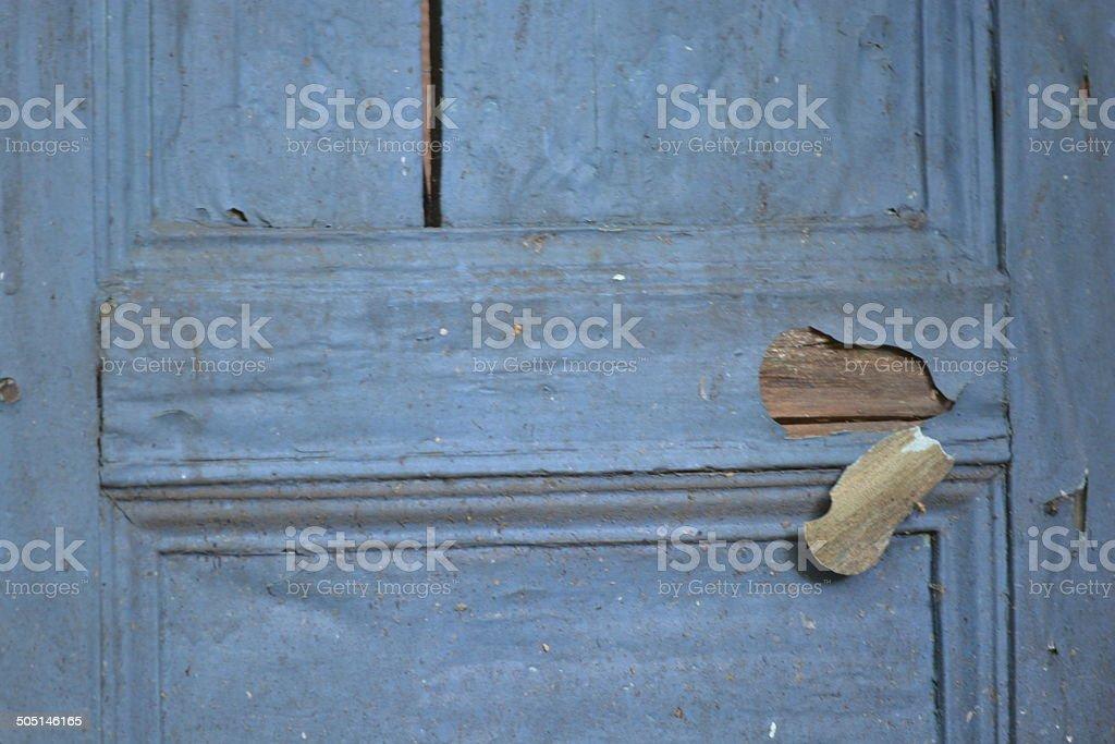 puerta antigua stock photo