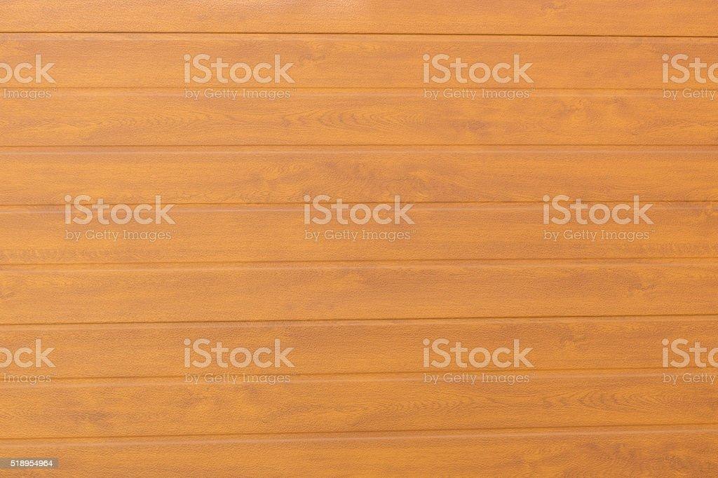 Puerta de madera rayada horizontal stock photo