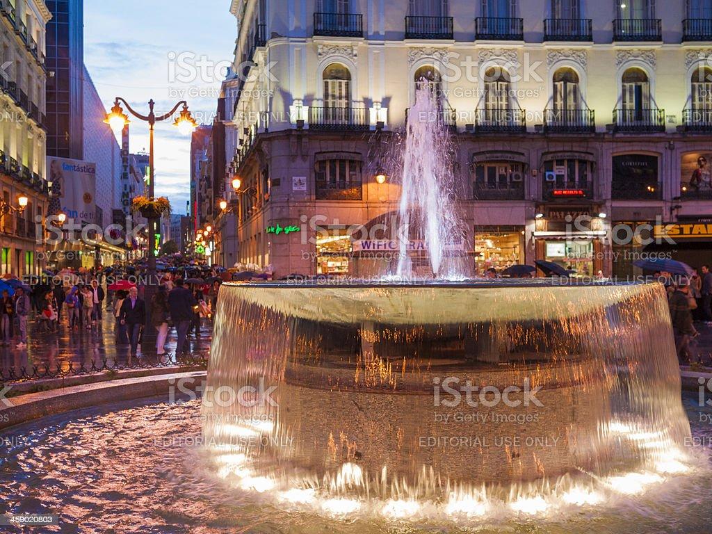 Puerta del Sol, Madrid royalty-free stock photo