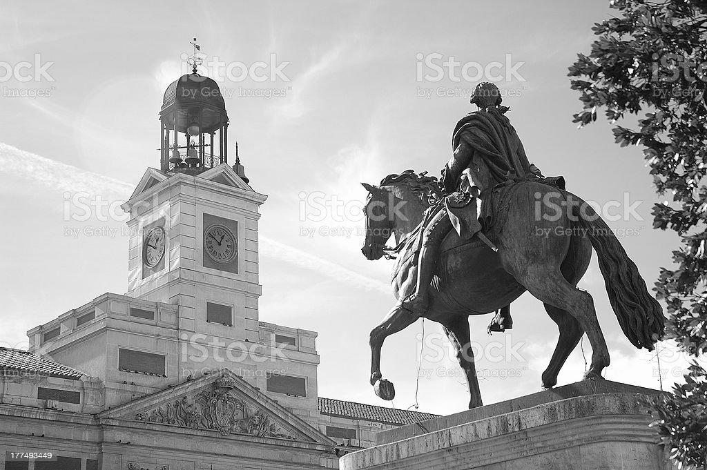 Puerta del Sol stock photo