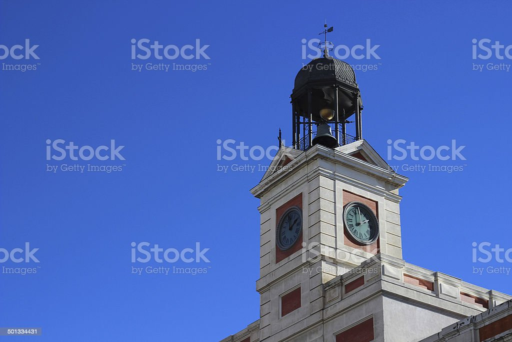 Puerta del Sol Tower royalty-free stock photo