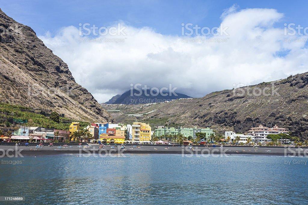 Puerto at La Palma stock photo