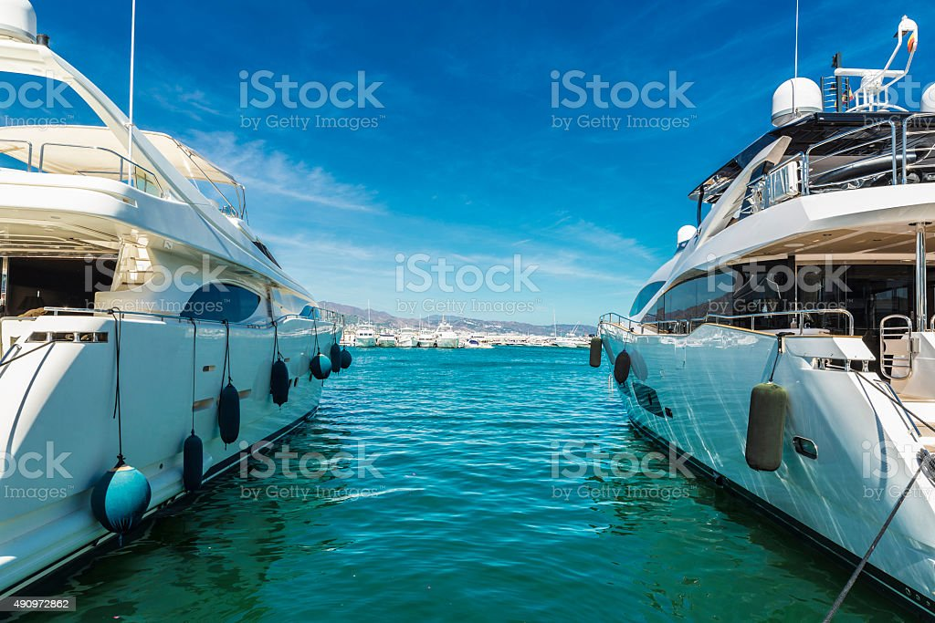 Puerto Banus, Andalusia, Spain stock photo