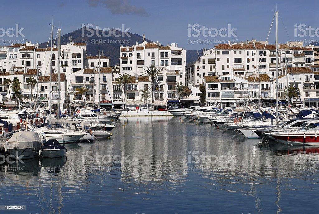 Puerto Banus harbour. royalty-free stock photo