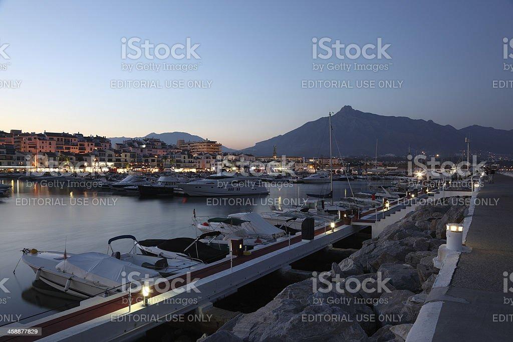 Puerto Banus, Marbella, Spain royalty-free stock photo