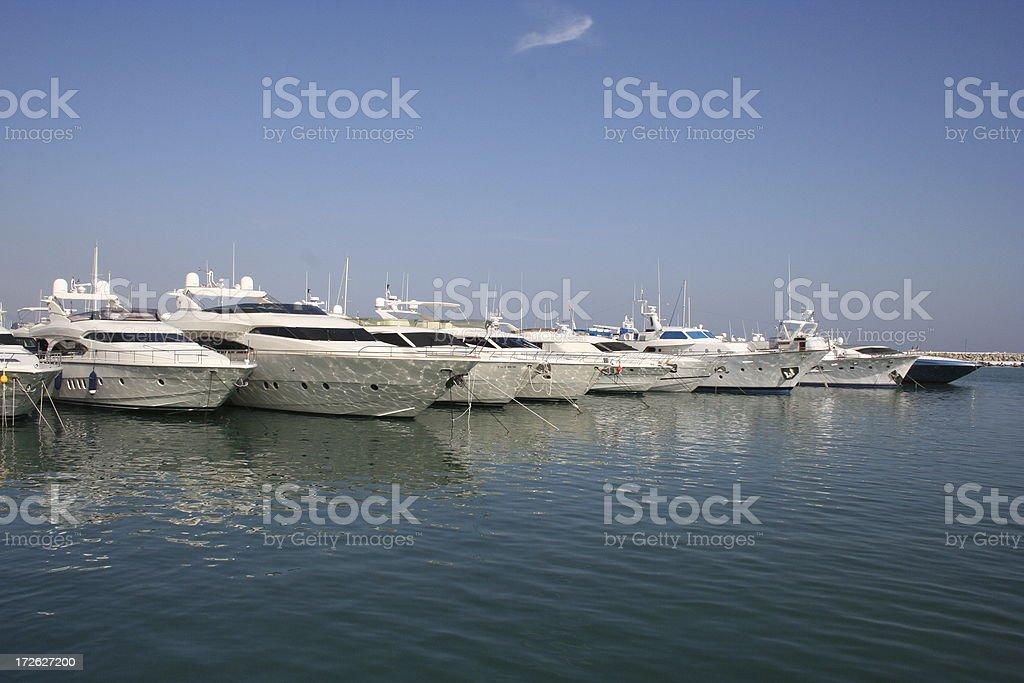 Puerto Banus Marina royalty-free stock photo