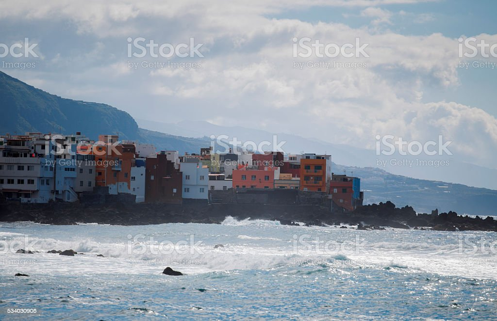 Puerto de la Cruz. stock photo