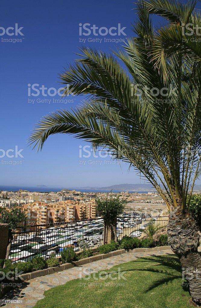 Puerto de Mazarron royalty-free stock photo