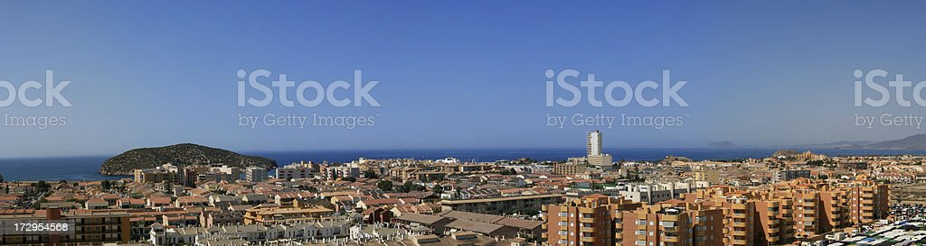 Puerto de Mazarron (Panoramic) (XXL) stock photo