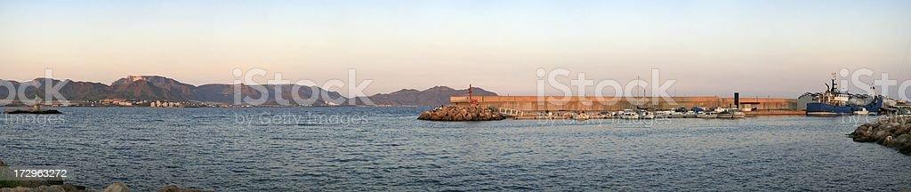 Puerto de Mazarron (XXL) stock photo