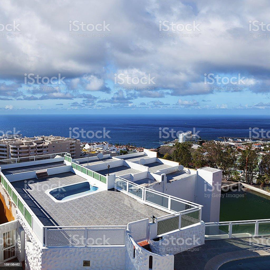 Puerto de Santiago View, Tenerife royalty-free stock photo