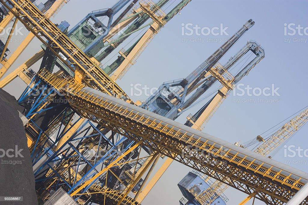 puerto de tarragona royalty-free stock photo