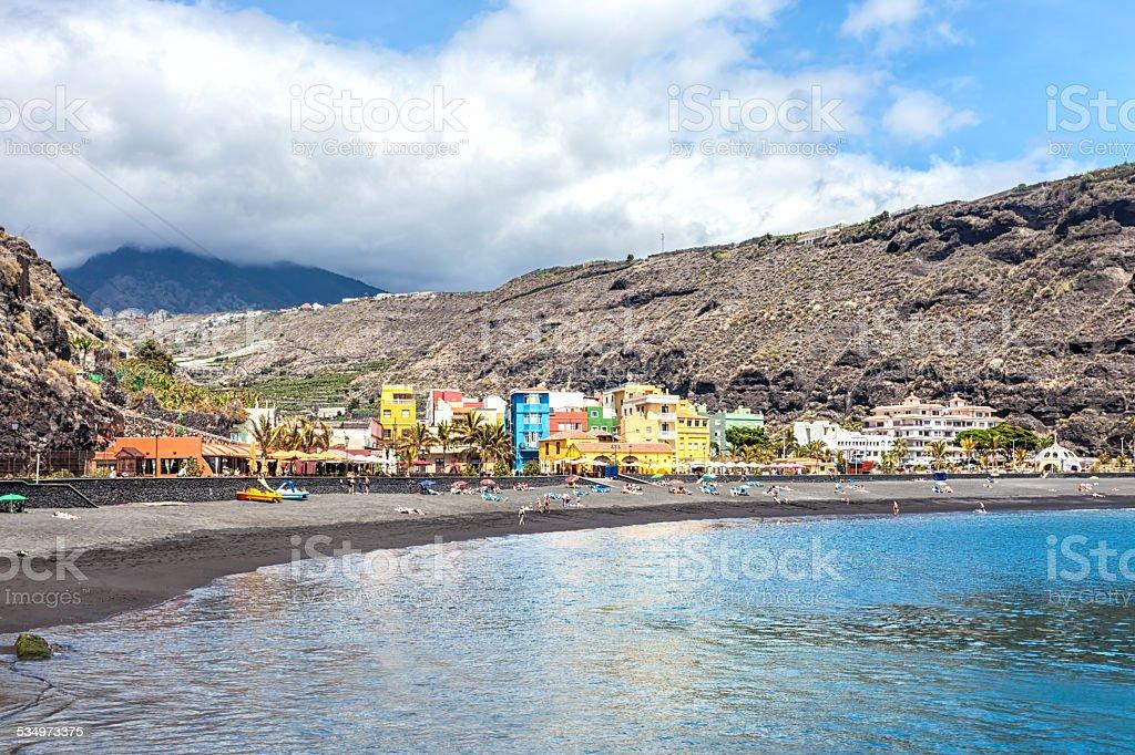 Puerto De Tazacorte, La Palma stock photo