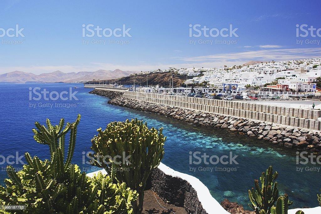 Puerto del Carmen, Lanzarote stock photo