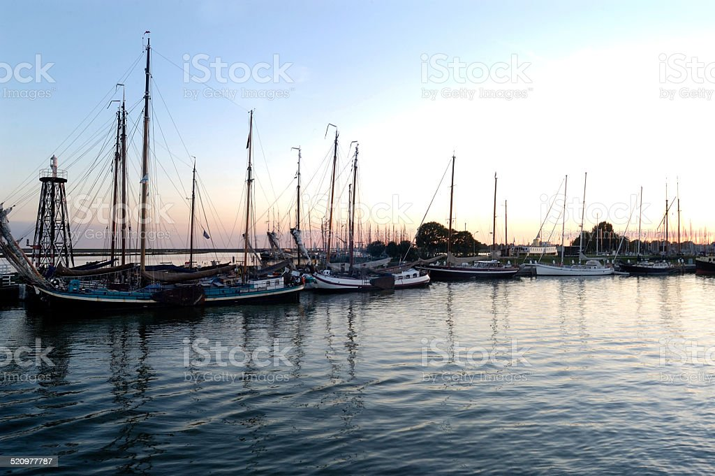 Puerto, Enkhuizen, Netherlands stock photo