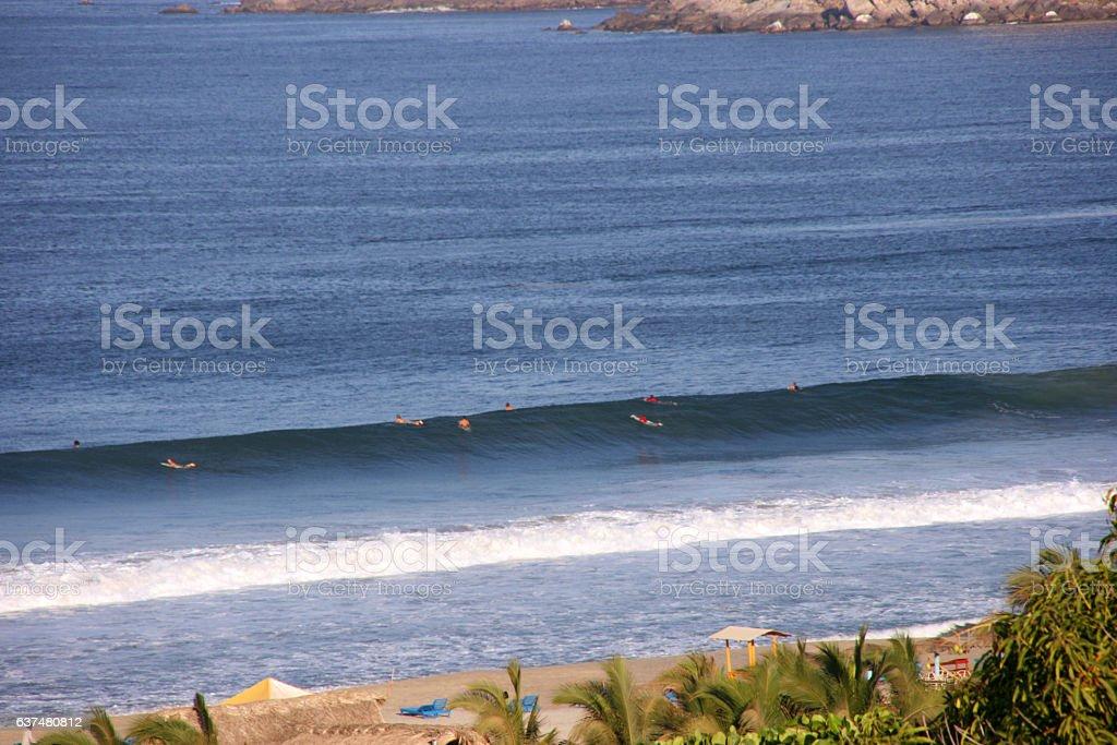 Puerto Escondido, Mexico stock photo