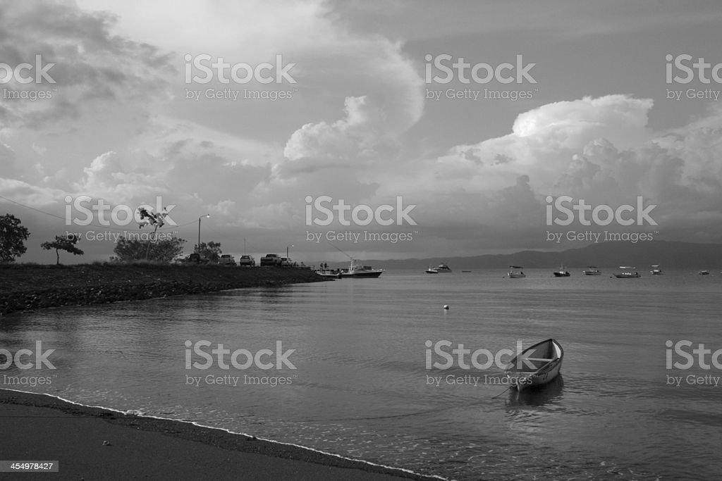Puerto Jimenez Harbor, Costa Rica stock photo