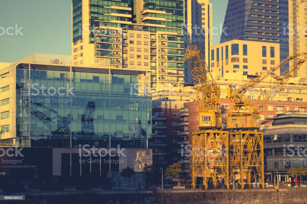 Puerto Madero, Buenos Aires, Argentina, South America. stock photo