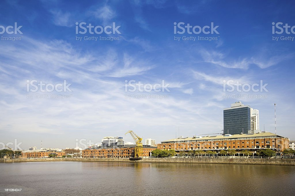 Puerto Madero royalty-free stock photo