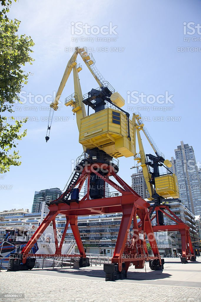 Puerto Madero Waterfront, Buenos Aires, Argentina stock photo