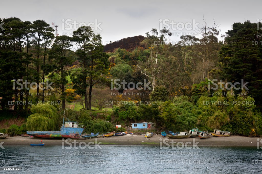 Puerto Montt stock photo