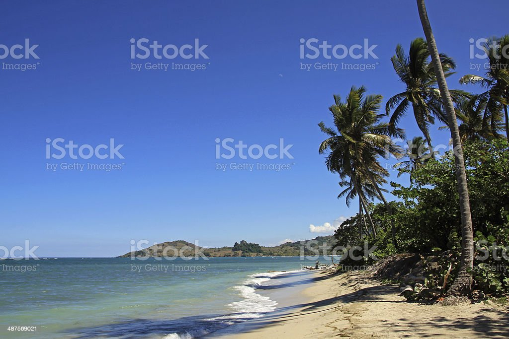 Puerto Plata Beach stock photo
