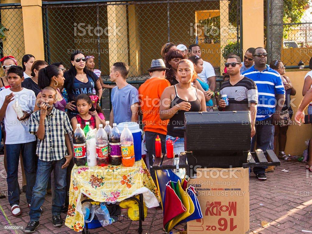Puerto Plata, Dominican Republic stock photo