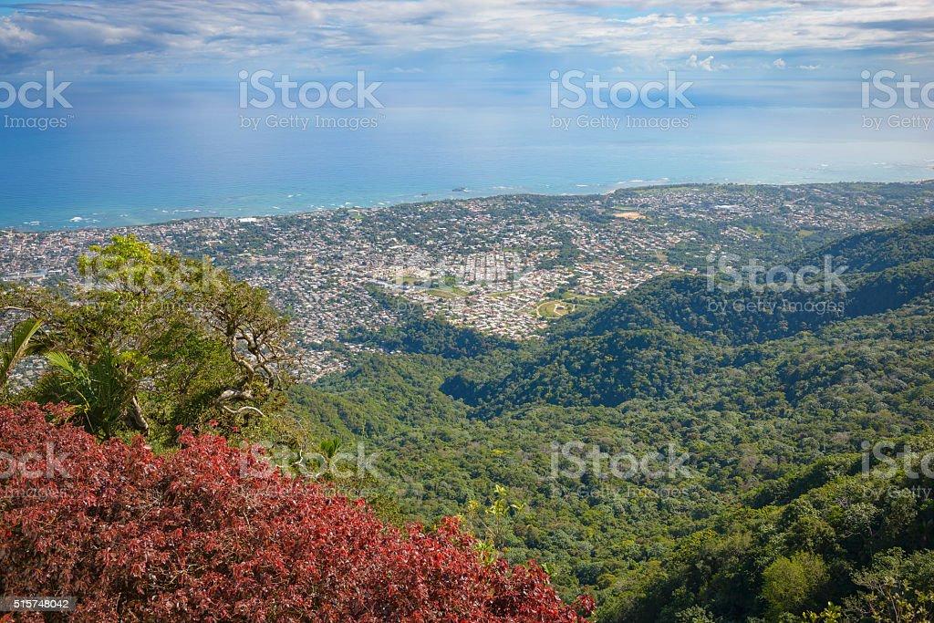 Puerto Plata landscape stock photo