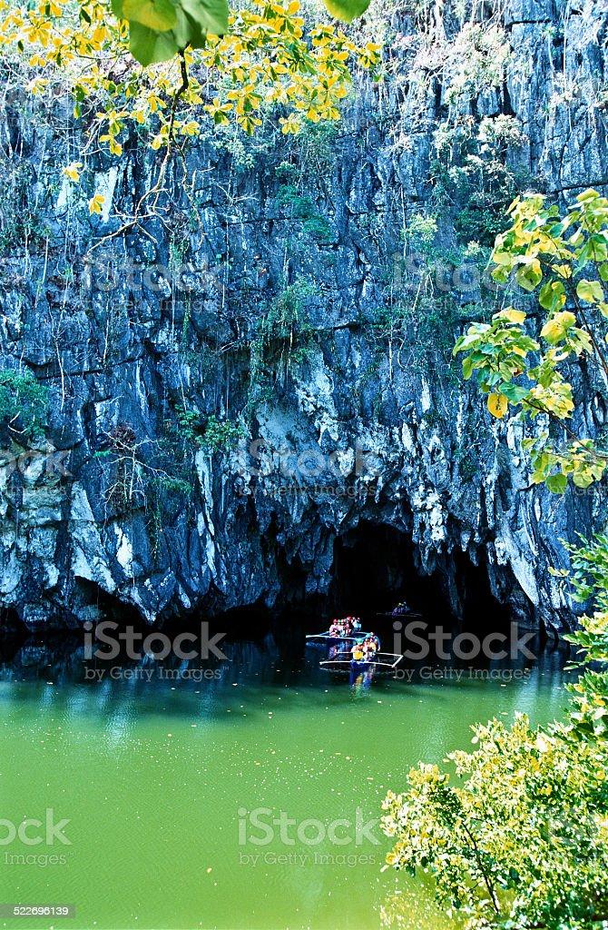 Puerto Princesa Subterranean River National Park. stock photo