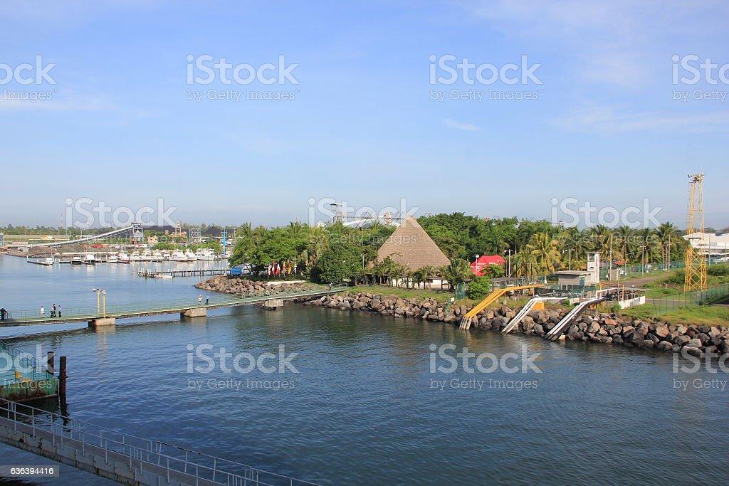 Puerto Quetzal,Guatemala stock photo