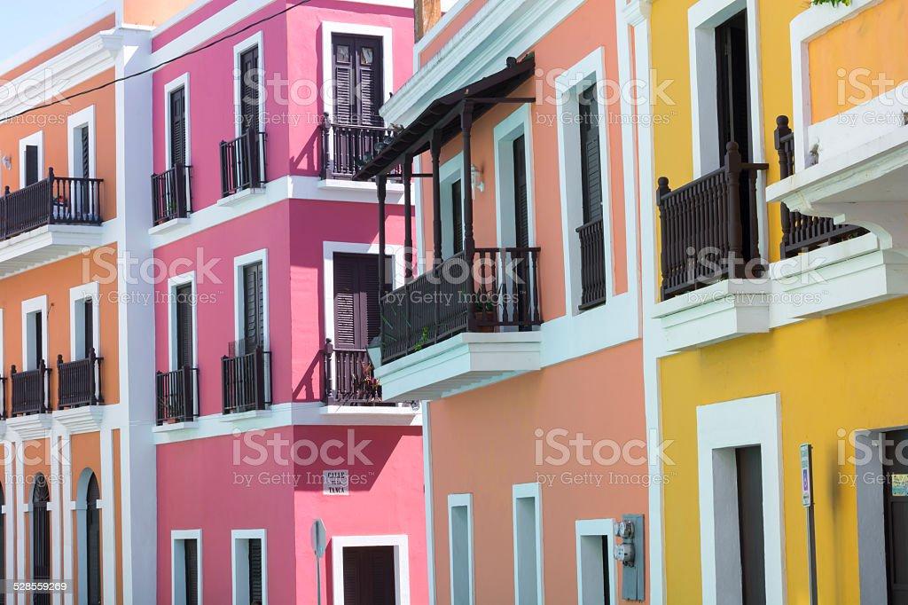 Puerto Rico architecture stock photo