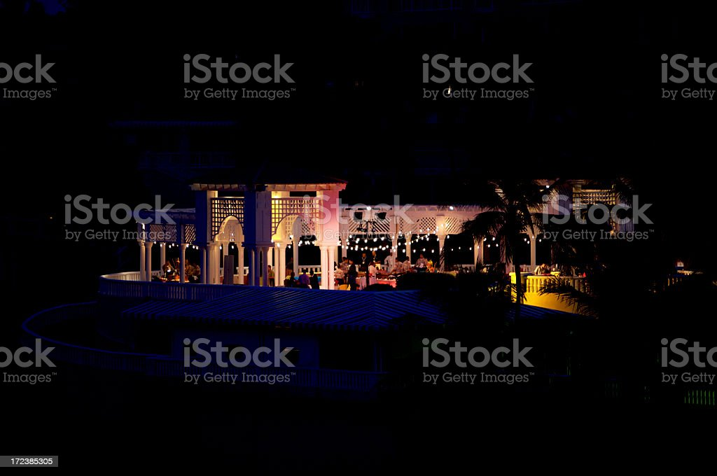 Puerto Rico a notte foto stock royalty-free