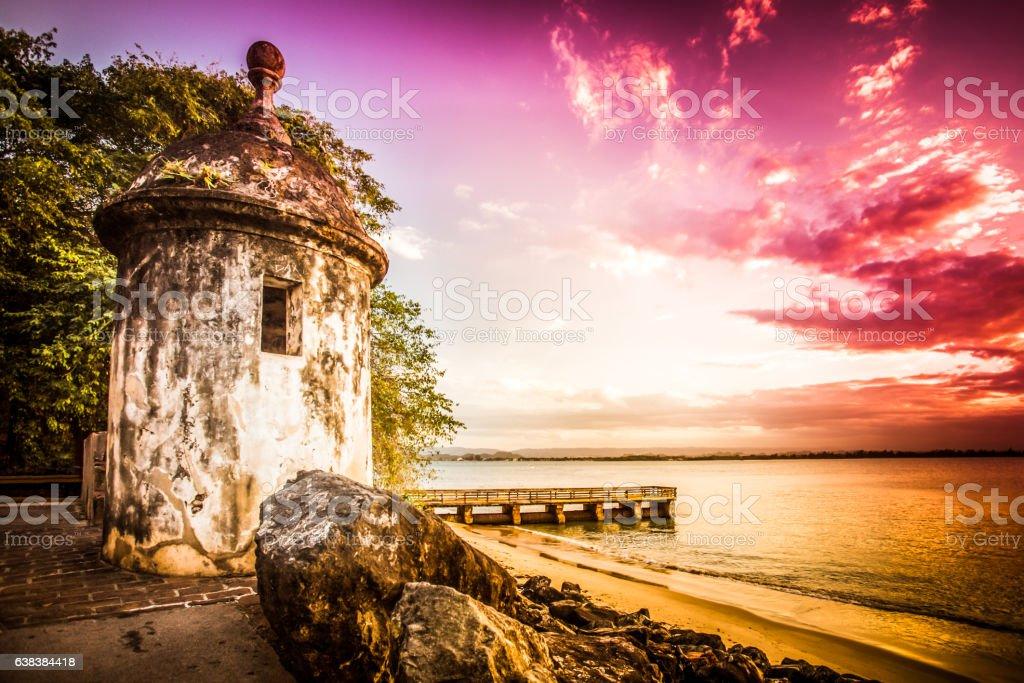 Puerto Rico El Morro stock photo