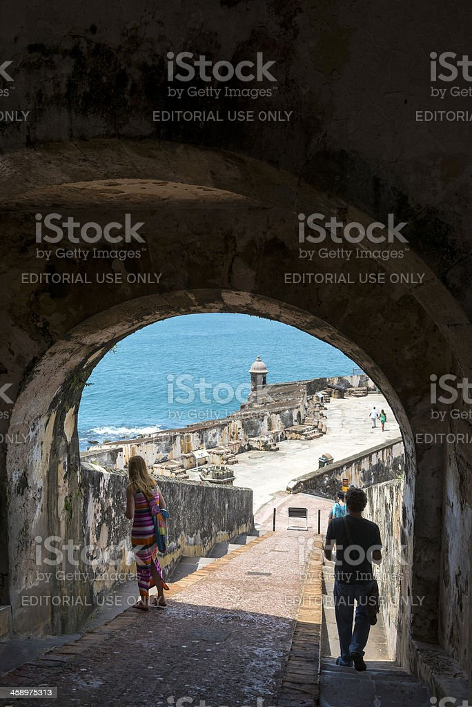 Puerto Rico vacation stock photo